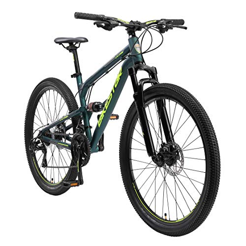 BIKESTAR Bicicleta de montaña de Aluminio...