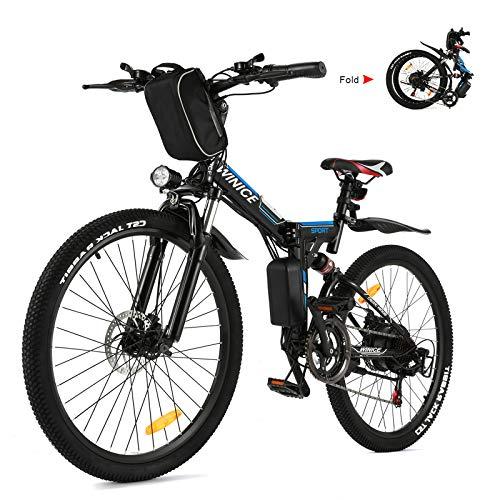 Vivi Bicicleta Eléctrica Plegable Bicicleta...