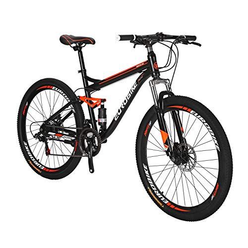 LZBIKE BICYCE S7-27.5 Bicicleta de Montaña 21...
