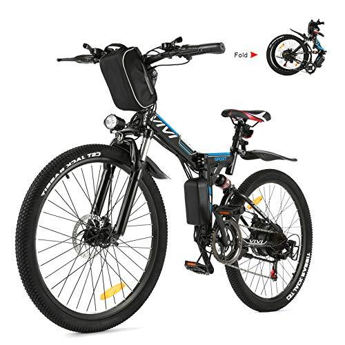 Vivi Bicicleta Electrica Plegable, 26' Bicicleta...