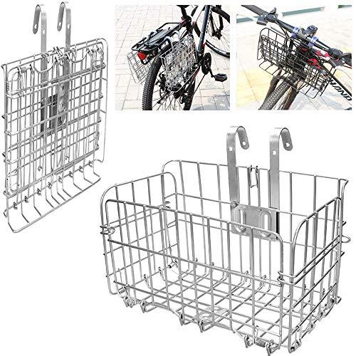 ASPIRER Cesta delantera para bicicleta –...