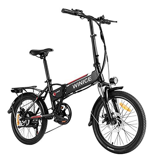 VIVI Bicicleta Plegable Electrica, 20' Bicicleta...