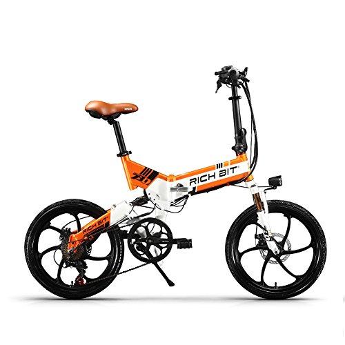 RICH BIT ZDC RT-730 LCD ebike Plegable Bicicleta...