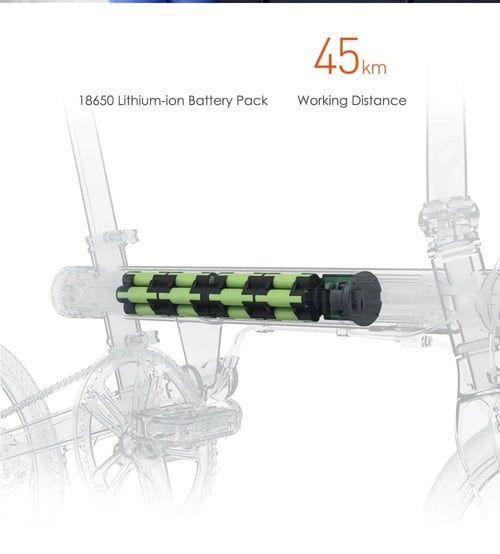 duración de la batería de la bicicleta eléctrica xiaomi