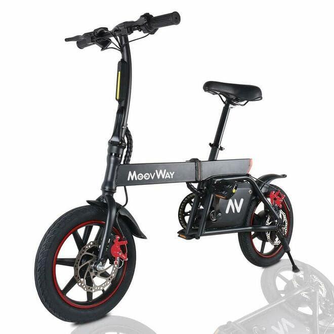 Windgoo B20 con pedales Bicicleta Eléctrica Plegables
