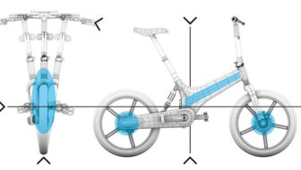 Bicicleta GoCycle GX