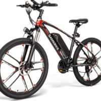 SAMEBIKE Bicicleta Eléctrica de montaña