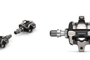 Pedales Garmin con medidores de potencia para Rally XC, que se pueden intercambiar de bicicleta fácilmente,