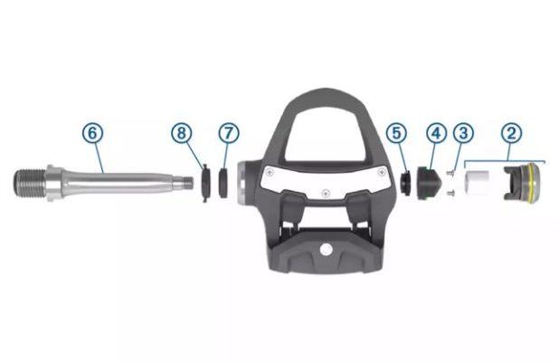 pedales medidores de potencia para Rally XC
