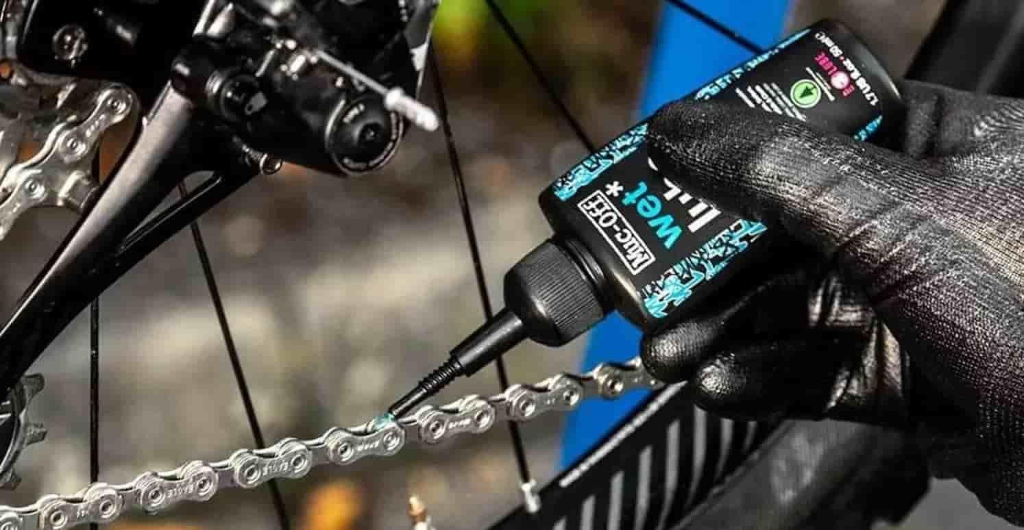 limpiar cadena de la bici
