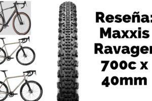 Cubierta de gravel Maxxis Ravager de 700c x 40 mm
