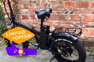 Bicicleta electrica mcacewheel gw20 eléctrica plegable rebajada un 65%