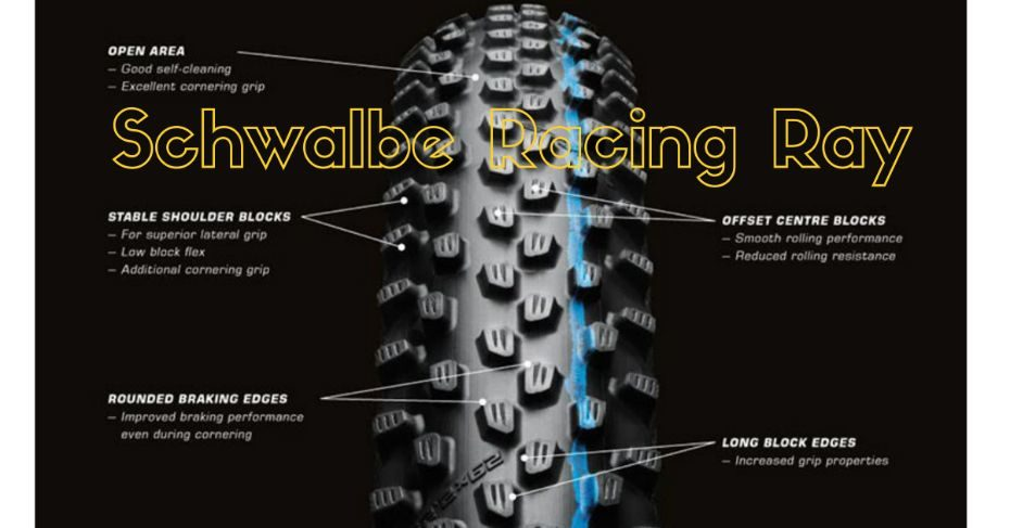Neumático delantero Schwalbe Racing Ray